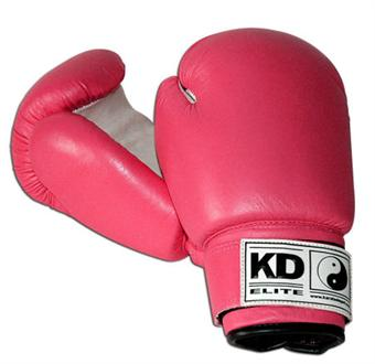 KD Elite Women's Pink Boxing Gloves